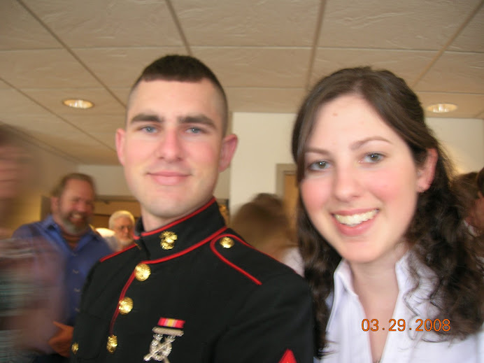My Marine Thomas and his sister Brianna
