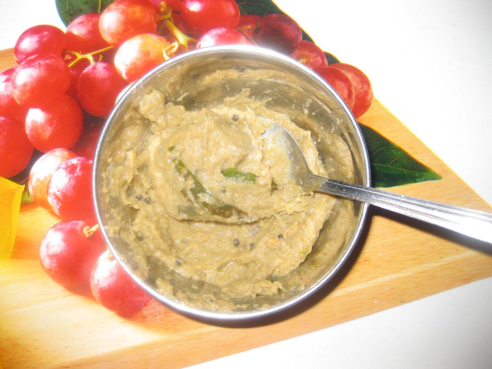 Banana chutney recipe raw banana curd chutney recipe pachadi recipe