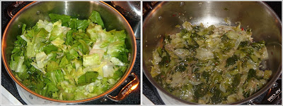 The Teacher Learns to Cook: Braised Escarole with Garlic and Oil