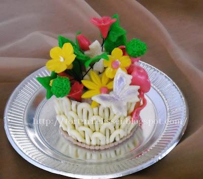 Articole culinare : Cosulet cu flori