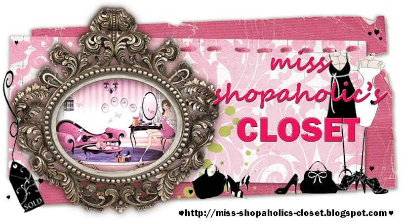miss shopaholic's closet - malaysia's online blogshop