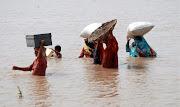 La cifra de muertos en las inundaciones en Pakistán ascendió hoy a 830 . pakistã¡n inundaciones