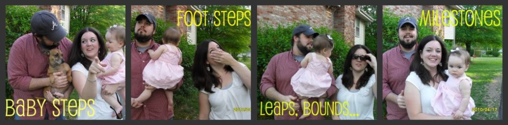 Baby Steps, Foot Steps, Leaps, Bounds, Milestones