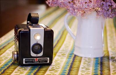 vintage hawkeye camera