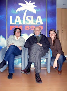 Oscar Smoje Director del Palais de Glace nos visitó en Fm La Isla
