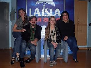 Gachi Rosatti , Eduardo Blanco nos visitaron en La Isla