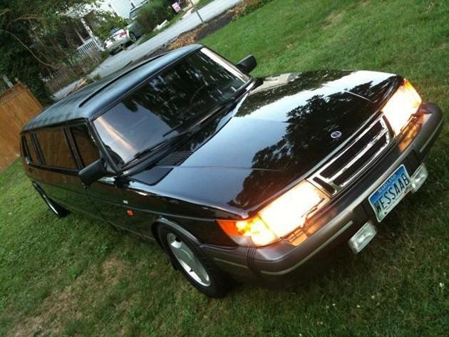 1985 saab 900 turbo limousine
