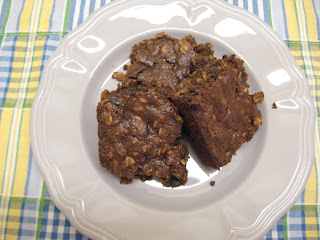 Ginger Lemon Girl: Seriously Good Chocolate Oatmeal Brownies