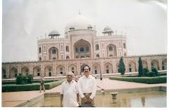 with my guru Dilawar Hussain