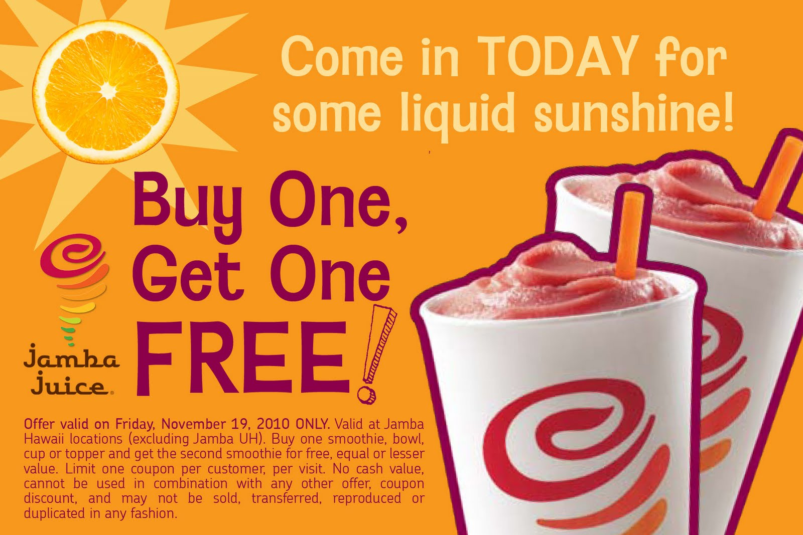 Jamba juice coupon code