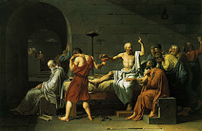 صورة موت سقراط