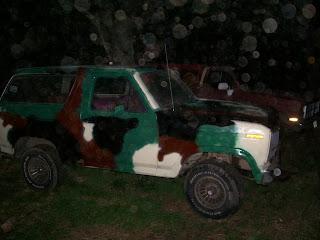 1982 Ford Bronco, camo