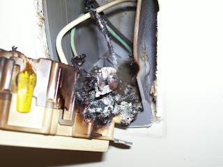 Bad wall plug