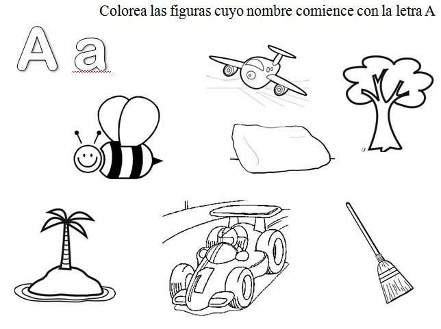 Dibujos de objetos que empiezan con la vocal a - Imagui