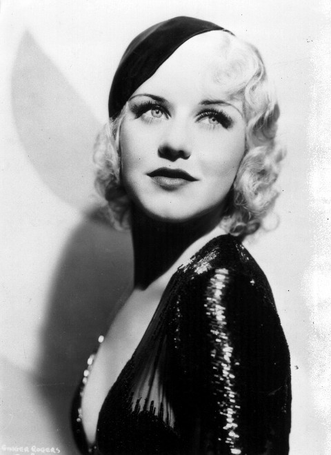 the pink retro powder room funny girl series ginger rogers