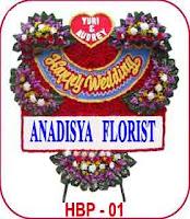 bunga papan ucapan acara pernikahan