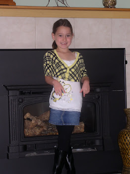 Elisha's first day of 2nd grade