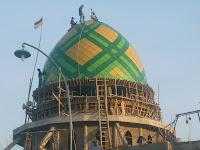 kubah masjid, kontraktor kubah, kubah enamel, atap