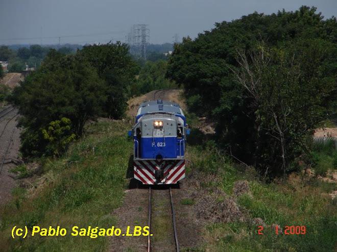 F 623 EN SERVICIO PUENTE ALSINA - ALDO BONZI