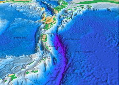 Republica Dominicana y el Caribe bajo, bajo amenaza sísmica 3+Fosa+Milwaukee+quantum.com.do