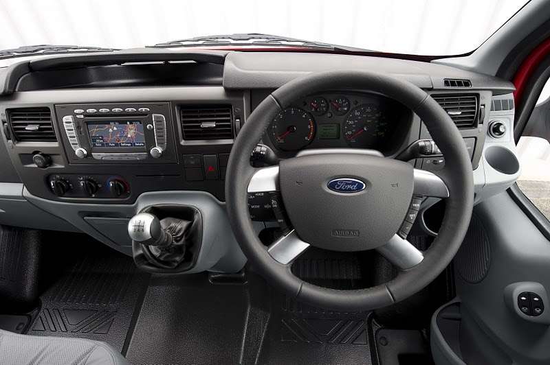 2010 Ford Transit SportVan Red - Wheel View