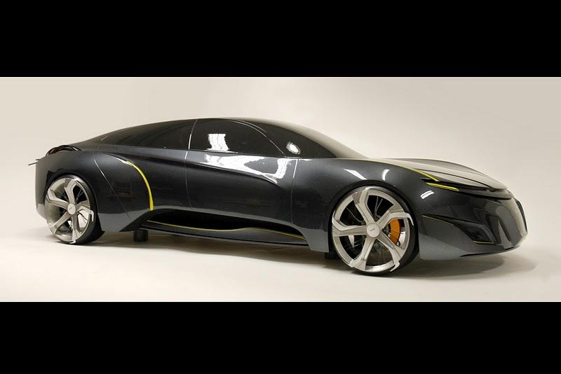 2025 Saab Sport Sedan Concept Study Car