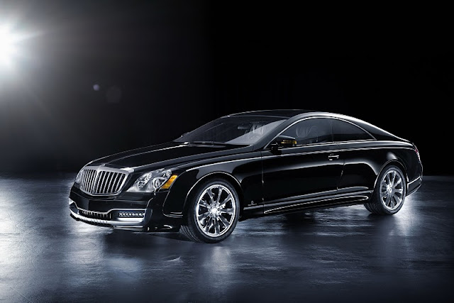 2011 xenatec maybach 57s coupe front side view 2011 Xenatec Maybach 57S Coupe