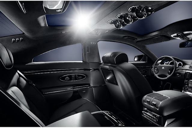 2011 xenatec maybach 57s coupe interior view 2011 Xenatec Maybach 57S Coupe