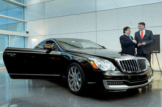 2011 xenatec maybach cruiserio front angle view 2011 Xenatec Maybach Cruiserio