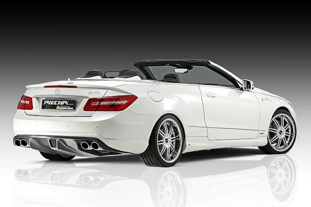 2011 piecha mercedes benz e class convertible w207 rear side view 2011 Piecha Mercedes Benz E Class Convertible W207