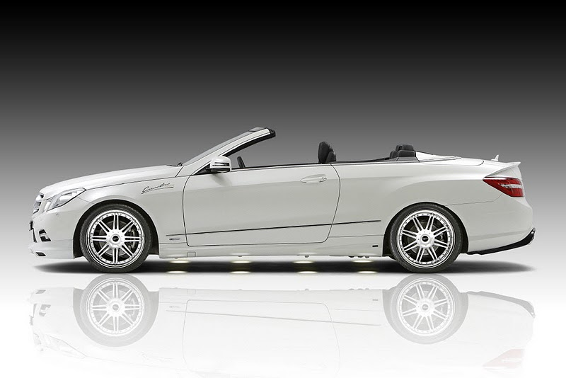 2011 piecha mercedes benz e class convertible w207 side view 2011 Piecha Mercedes Benz E Class Convertible W207