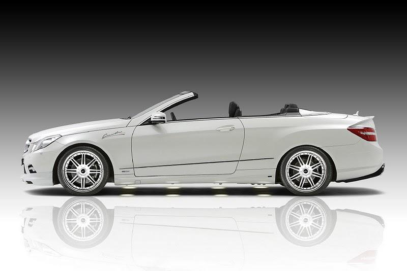 2011 piecha mercedes benz e class convertible w207 side view 2011 Piecha Mercedes Benz E Class Convertible W207