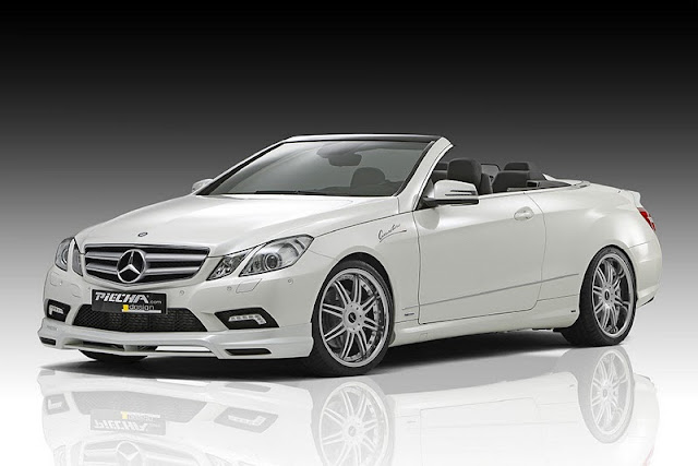 2011 piecha mercedes benz e class convertible w207 front side view 2011 Piecha Mercedes Benz E Class Convertible W207
