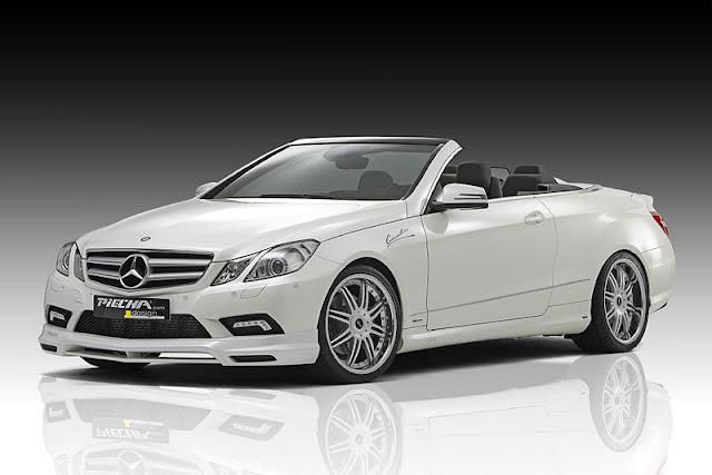 2011 piecha mercedes benz e class convertible w207 front side view 2011 Piecha Mercedes Benz E Class Convertible W207