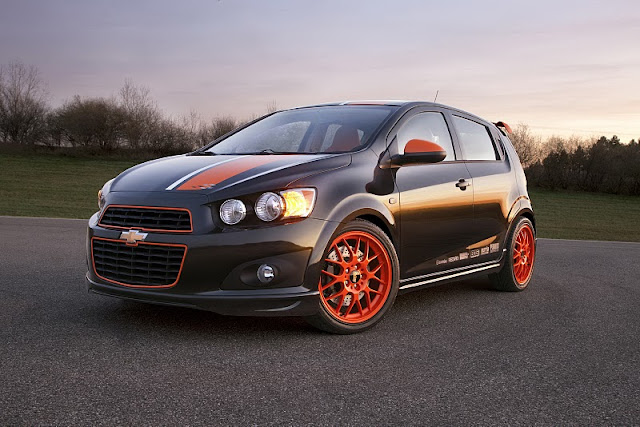 2011 chevrolet sonic z spec concept front side view 2011 Chevrolet Sonic Z Spec