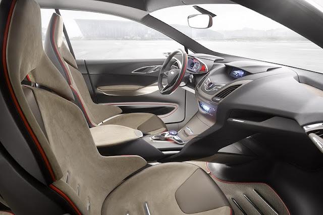 2011 ford vertrek concept interior view 2011 Ford Vertrek
