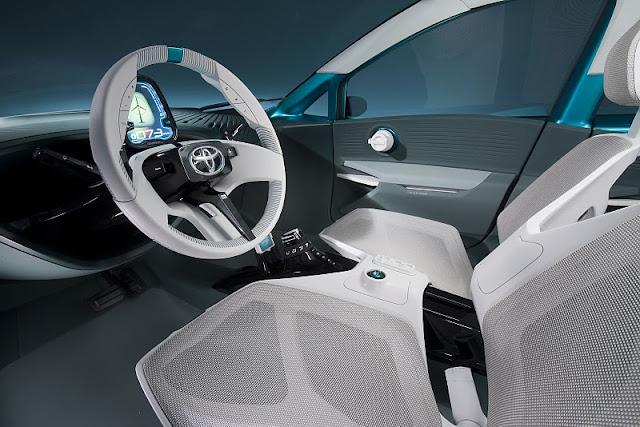 2011 toyota prius c concept interior view 2011 Toyota Prius C