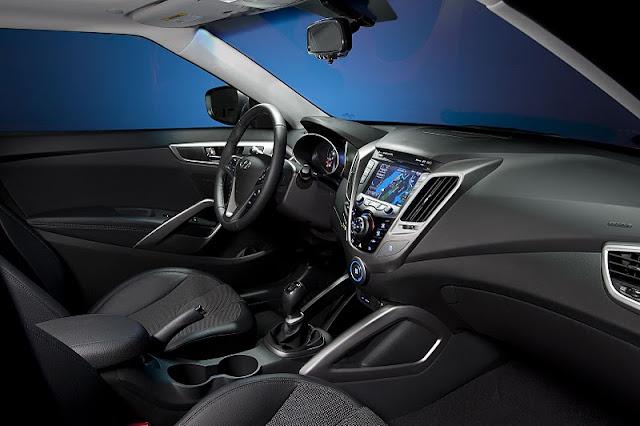 2012 hyundai veloster interior view 2012 Hyundai Veloster