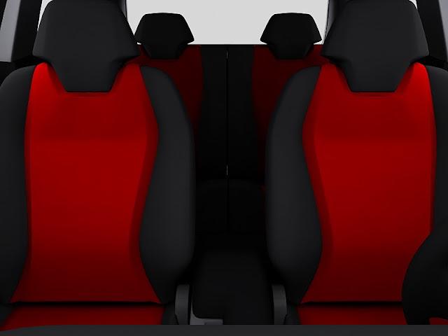 2011 mitsubishi cs concept seats view 2011 Mitsubishi CS