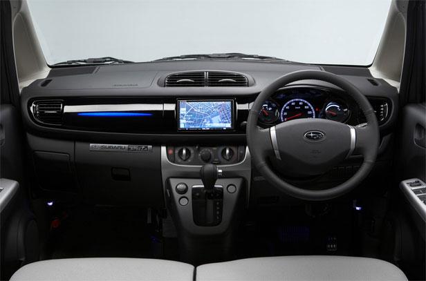 2011 subaru stella ev dashboard view 2011 Subaru Stella EV