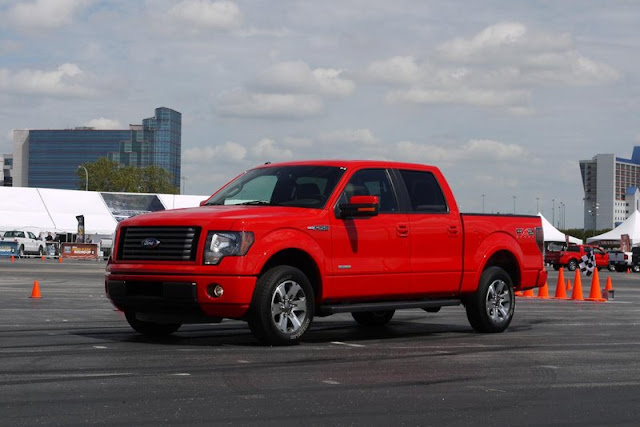 2011 ford f 150 ecoboost front side view 2011 Ford F 150 EcoBoost