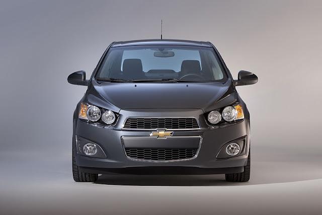 2012 chevrolet sonic sedan front view 2012 Chevrolet Sonic Sedan