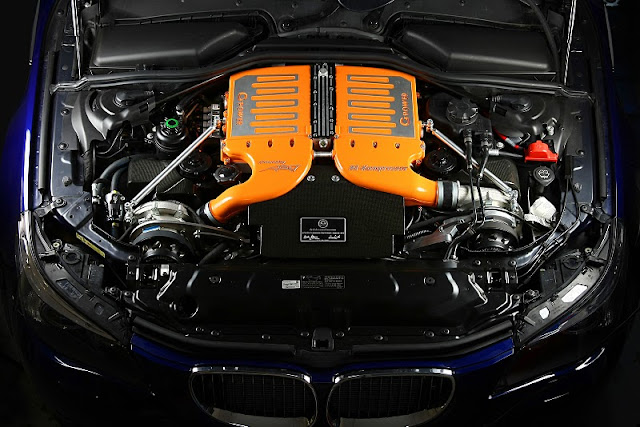 2011 g power bmw m5 hurricane gs engine view 2011 G Power BMW M5 Hurricane GS
