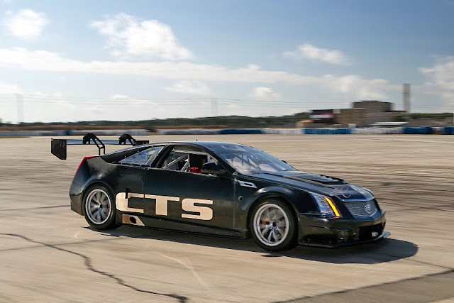 2011 cadillac cts v coupe racer scca front side view 2011 Cadillac CTS V Coupe Racer SCCA