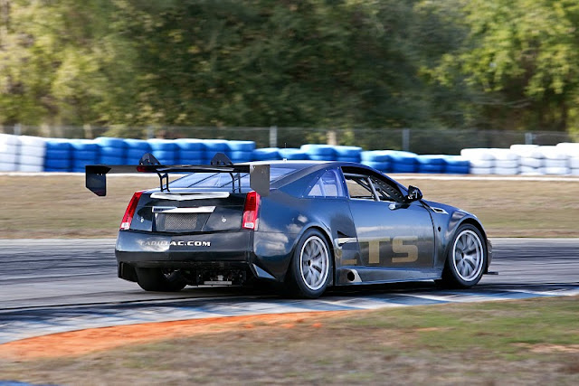 2011 cadillac cts v coupe racer scca rear side view 2011 Cadillac CTS V Coupe Racer SCCA