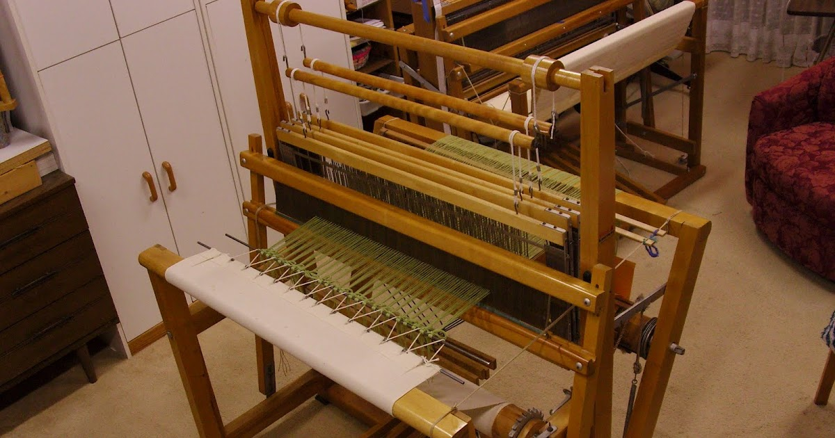 Daisy Hill Weaving Studio Rug Warp On Loom
