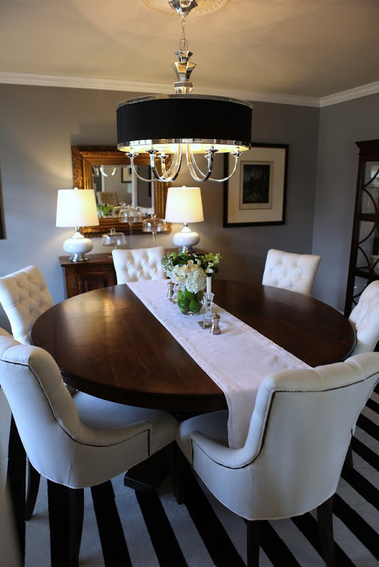 Round Formal Dining Room Furniture (4 Image)