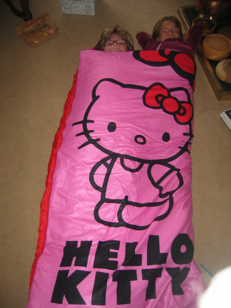 caf05b9ed93 Madhouse Family Reviews  Hello Kitty Sleeping Bag