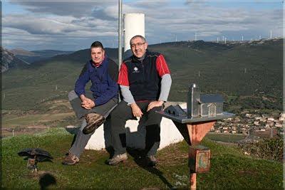 San Vítores mendiaren gailurra 92 m. - 2010eko urtarrilaren 6an