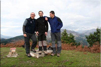 Durako gain mendiaren gailurra 813 m. - 2009ko azaroaren 15ean